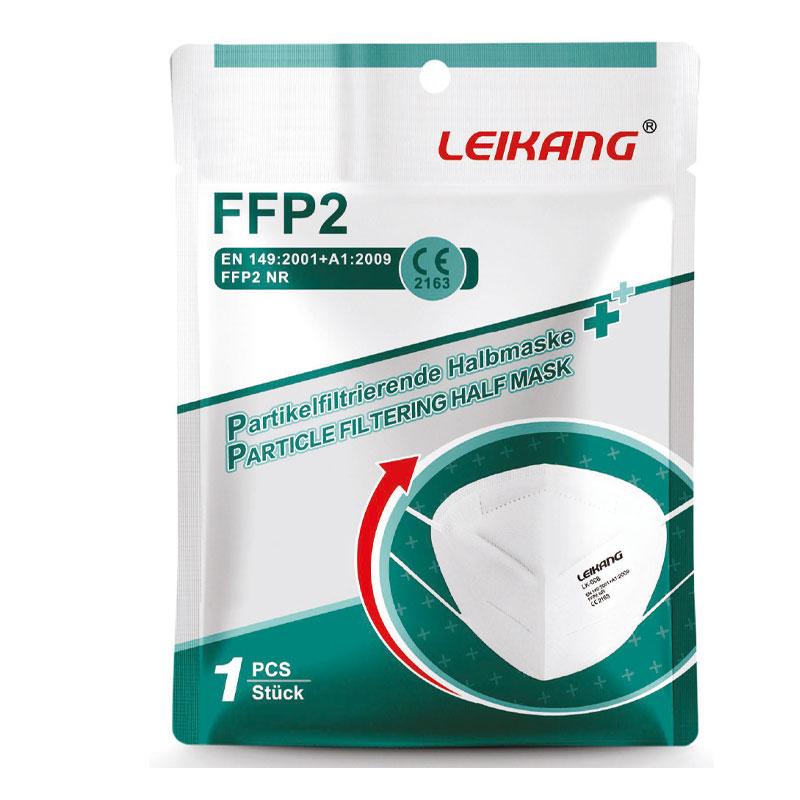 LEIKANG FFP2 Atemschutzmaske (1 Stück), weiß