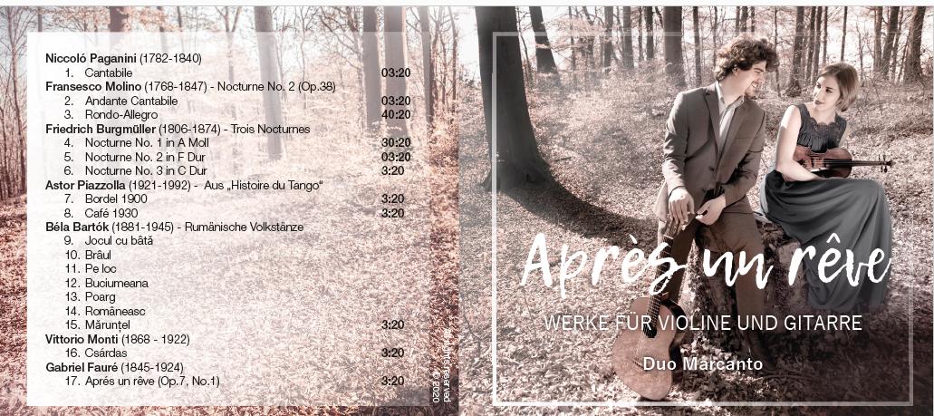 CD Duo Marcanto: Après un rêve